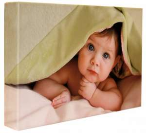 A3 sized photo canvas £10.45 @ yourimageoncanvas / Todays Great Deal