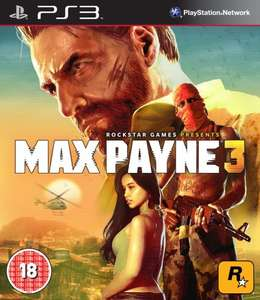 *Back In Stock* Max Payne 3 PS3 £3 @ Tesco Direct