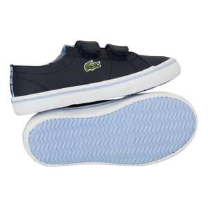 Kids Lacoste Trainers £19.99 Delivered @ universal_fashion Via eBay (13 Styles)