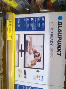 Blaupunkt 185/207I 19 Inch HD Ready 720p LED TV / DVD Combi with Freeview £89 Tesco instore Hermiston Gate Edingurgh Look Like its national if the Store have them