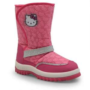 Girls Hello Kitty Snow Boots £5.99 + delivery from £29.99. Other styles available @ SportsDirect