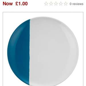 John Lewis Plates £1 Including C+C Delivery