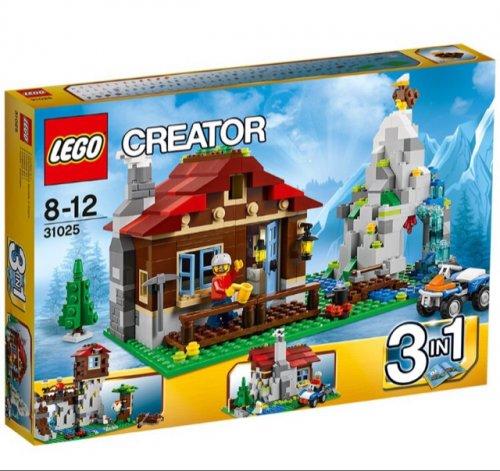 LEGO Creator 31025: Mountain Hut £25.97 @ AmazonUK (34.99 in Lego Store)