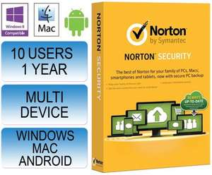 Norton Security 2.0 2015, 10 device 1 year subscription, with 25GB Backup. Retail pack @ Extreme-Hardware via eBay £30.75, download @ ebuyer £27.50
