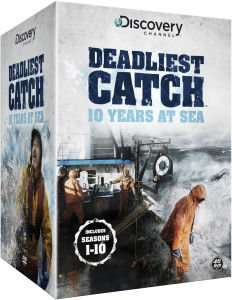 Deadliest Catch: 10 Years at Sea DVD (complete Seasons 1-10) £29.99 @ Zavvi