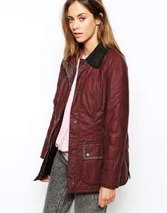 Women's Barbour Beadnell Coat, half price £114.50- from £229 @ Asos, all sizes from 8 to 16