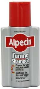 Alpecin Tuning Shampoo 200ml - (Pack of 3) £10.99 @ Amazon