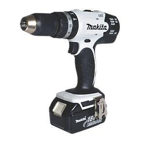 Makita DHP453RFW 18V 3.0Ah Li-Ion Cordless LXT Combi Drill £119.99 @ Screwfix