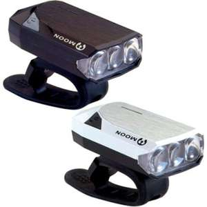 Moon Gem 2.0 LED Rechargeable Front Bike Light £10.99 @ Wiggle