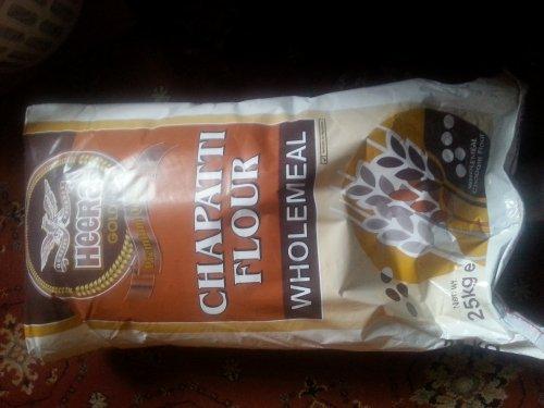 Heera wholemeal chappati flour 25kg
