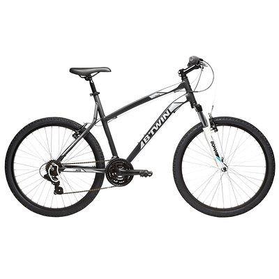 B'TWIN Rockrider 340 Mountain Bike, Grey/White £159.99  @ Decathlon.co.uk