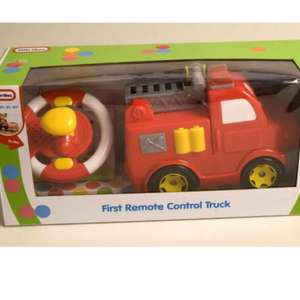 Little Tikes First Remote control Truck Red Fire Truck with Flashing Light £5 @ Asda