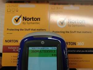 Norton Antivirus Subscription 1p & 4p! @ Tesco Instore