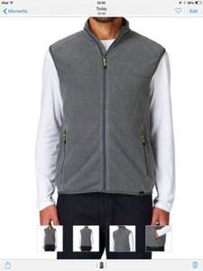 The North Face 100 Aurora Fleece gilet now 58% off was £59.99 now £25.19 with free delivery at The Surfdome
