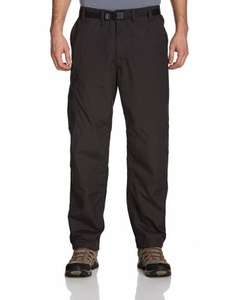 "Craghoppers Classic Kiwi Mens Walking Trousers 42"" short leg black £9.71 (+ £3.30 p+p or free delivery £10 spend/prime) at Amazon"