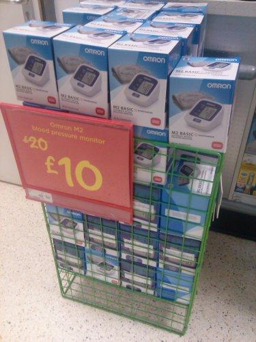Omron m2 blood pressure monitor £10 @ Asda