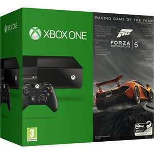 Xbox One Console + Forza 5 + Minecraft @ Very (with code) £279