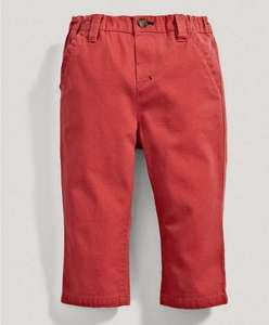 Mamas and papas red boys chinos all sizes 0-3 to 5-6 years free c+c £2.00