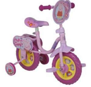 "Peppa Pig 10"" Kids Bike with Stabilisers £30 @ Tesco Direct"