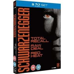 Schwarzenegger Triple Box Set: Total Recall / Red Heat / Raw Deal (3 Disc Blu-ray) £5.96 @ Play / Zoverstocks