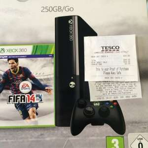 Xbox 360 250gb with Fifa14 for £64 in Tesco