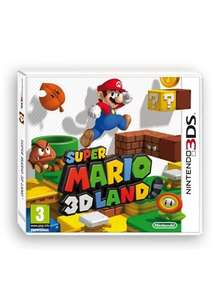 Super Mario 3D Land (Nintendo 3DS) £20 @ in store at Tesco