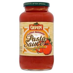 Huge 6 serving jar of Gefen Marinara Pasta Sauce 737g for only 40p at Morrisons - next cheapest £2.50 at Tesco