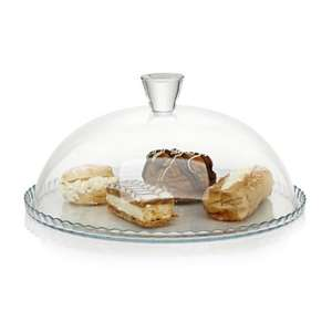 Glass cake plate with domed lid £3.00 @ Wilko