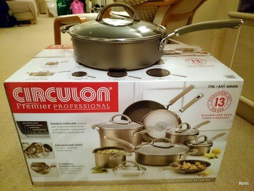 CIRCULON Premier Professional 8 Pan Set was £160, now £119.99 (inc VAT) @ Costco