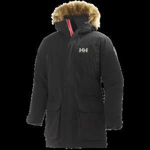 Helly Hansen Svalbard H2FLOW Parka Arctic Grey / Black £380 now £190 50% off