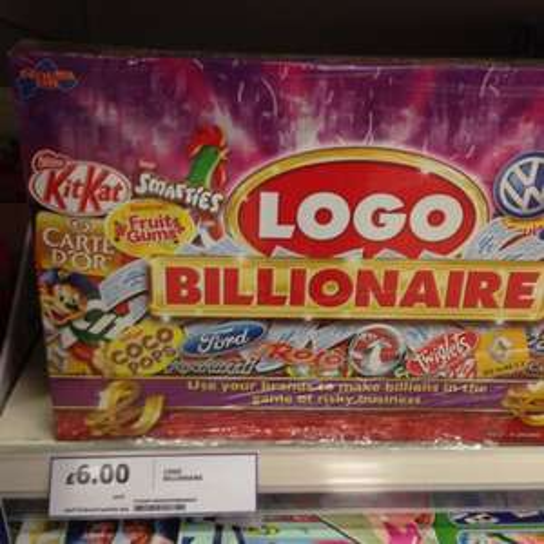 Logo billionaire instore @ Tesco £6.00