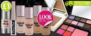 Look Beauty Cosmetics £1 At Poundworld.com, Delivery Varies, Most Expensive Is £3