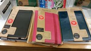 Waterstones Leather Kindle Cover - £3 (was £24.99) - In-store