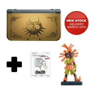 New Nintendo 3DS XL Majoras Mask 3D Edition w/ Skull Kid Figure £209.99 @ Nintendo Store (Restock)
