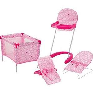 Chad Valley Baby Doll Sleep, Feed and Travel Set. £12.49 from £24.99 at Argos