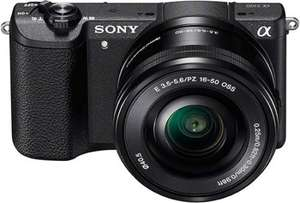 Sony a5100 with 16-50 lens. Amazon lightning deal £279.99.