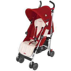 Maclaren quest sport buggy scarlet and wheat colour. £77.50 @ johnlewis