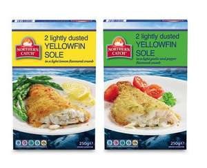 Northern Catch Yellowfin Sole fillet pieces (250g) ONLY £1.79 @ Aldi