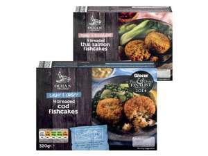 OCEAN TRADER 4 Breaded Fishcakes (320g) was £1.49 now £1.29 @ Lidl