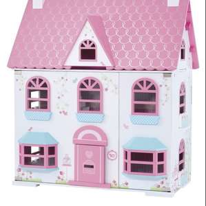 Rosebud Country Doll's House - 50% off - Was £100, now £50 delivered @ Mothercare
