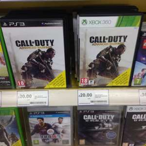 Call Of Duty XBOX 360 And PS3 £20 @ Tesco Instore