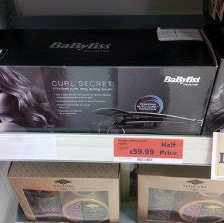 Babylis curl secret half price £59.99 @ Sainsbury's