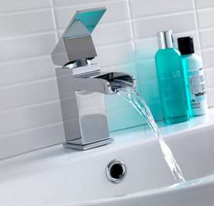 Escala Waterfall Basin Tap - Victoria Plumb ONLY £39.99