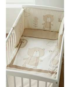 Kinder Valley Cot Bumper & Quilt Set £7.50 at Asda