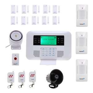Fortress Security Store Wireless Cellular GSM Home Security Alarm System DIY Kit with Auto Dial - £199.00 - Sold By Fortress Security (Fulfilled by Amazon)