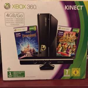 Xbox 360 4GB with kinect bundle and two games for £89 @ Tesco instore