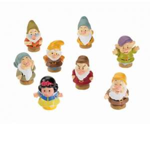 Little people Snow White and the seven dwarfs £9.96 + £3.30 post or  £10+ spend for free delivery on Amazon