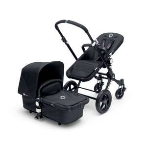 Bugaboo cameleon 3 black chassis with fabric pack and free car seat £869 @ Pramworld