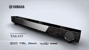 Yamaha YAS 103 SoundBar - £129 @ Amazon