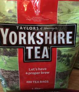 Yorkshire tea bags 480 large bag £4.00 @ Asda
